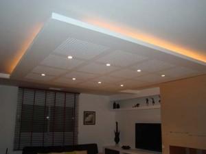 Tout sur le faux plafond faux plafonds et plafonds tendus - Comment mettre des spots dans un faux plafond ...