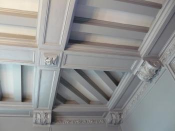Le plafond caisson faux plafonds et plafonds tendus - Caisson eclairage plafond ...